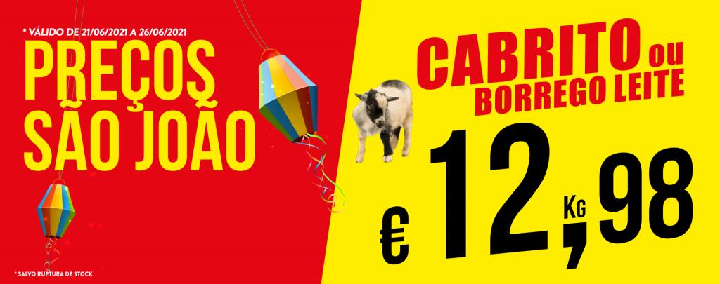 Promoção Semana 21/06 a 26/06/2021 Cabrito
