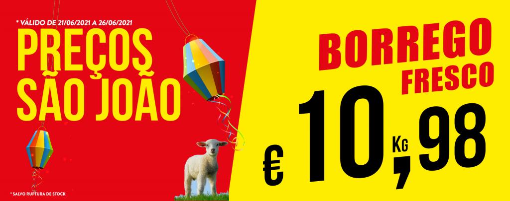 Promoção Semana 21/06 a 26/06/2021 Borrego