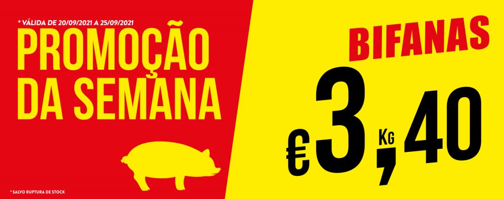 Promoção Semana 20/09 a 25/09/2021 Bifanas