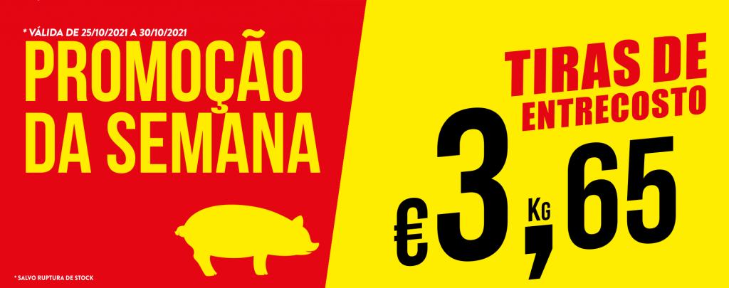Promoção Semana 25/10 a 30/10/2021 Tiras entrecosto